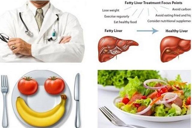 Duy trì chế độ ăn uống khoa học để bảo vệ gan luôn khoẻ mạnh