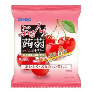 Thạch trái cây Orihiro vị quả Cherry