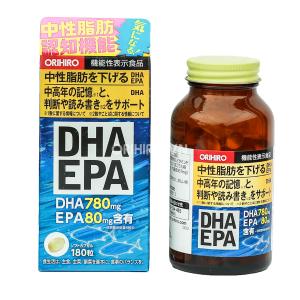 Viên uống bổ não DHA EPA Orihiro 180 viên