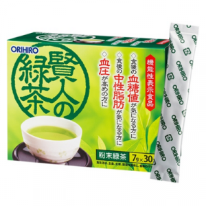 Tra xanh giam mo mau va duong trong mau Orihiro Sage 30 goi