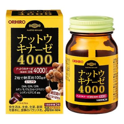 Vien uong ho tro dieu tri đot quy 4000 FU Orihiro 60 vien