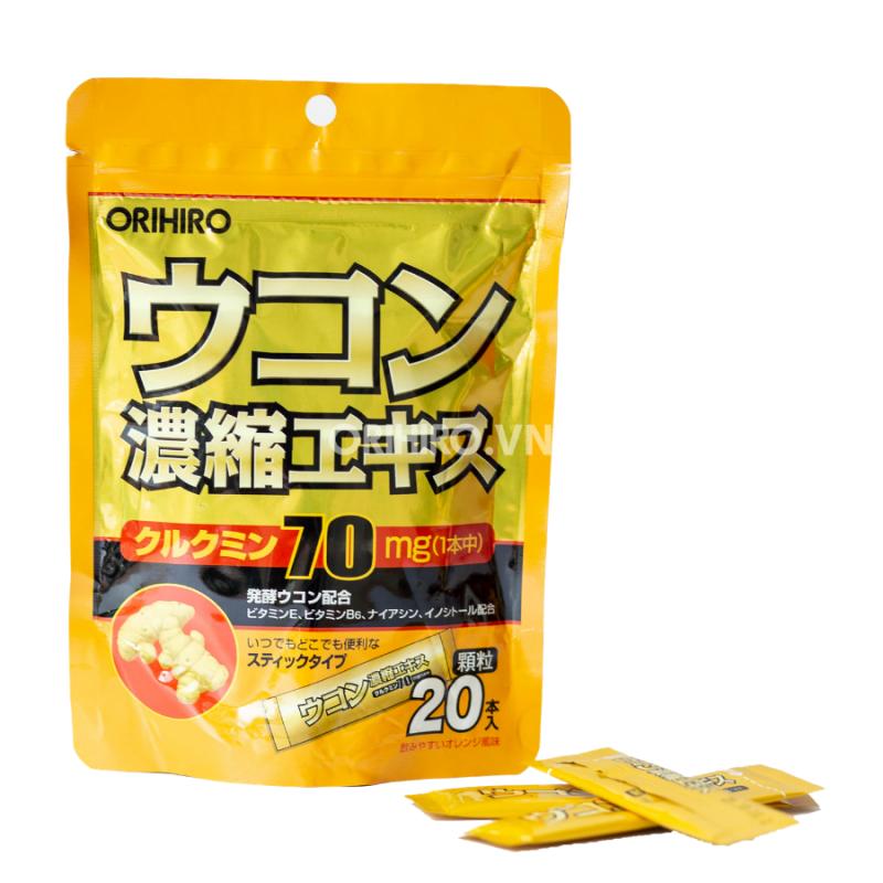 Tinh Bột Nghệ Giải Rượu Orihiro 20 gói