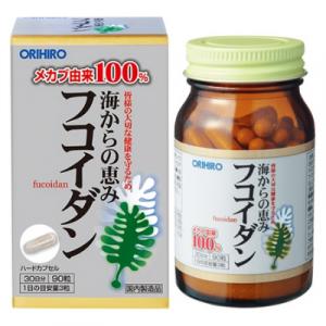 Tao Fucoidan Orihiro 90 vien