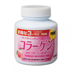 Viên nhai bổ sung Collagen Orihiro Most Chewable 180 viên