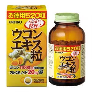 Viên uống tinh bột nghệ mùa thu Orihiro 520 viên