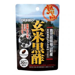Viên uống giấm gạo hỗ trợ tim mạch Orihiro 60 viên