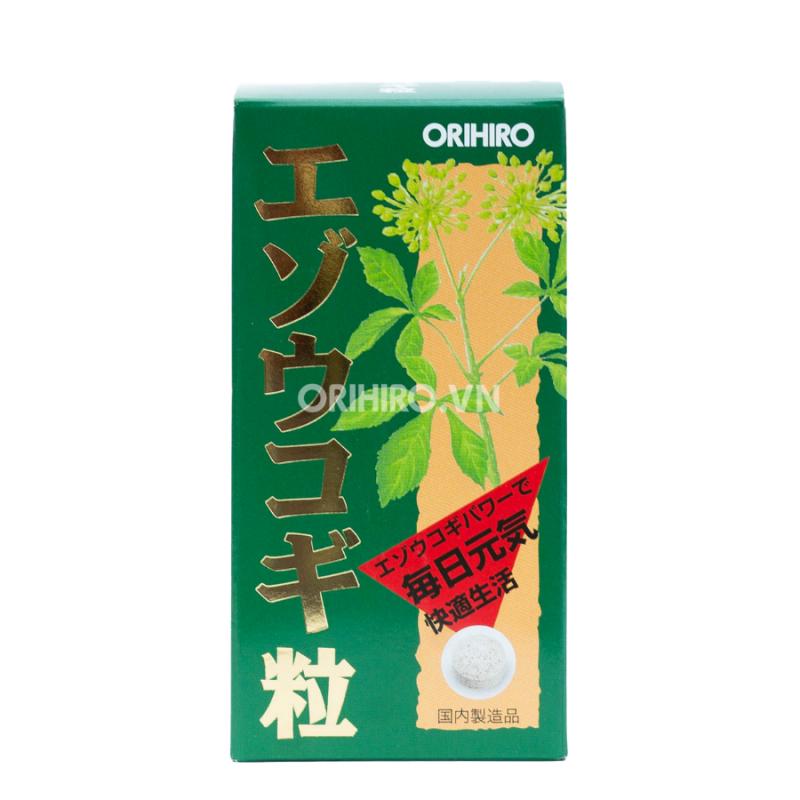 Viên uống tăng cường sinh lực Eleuthero Orihiro 400 viên