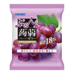 Thạch trái cây Orihiro vị nho tím