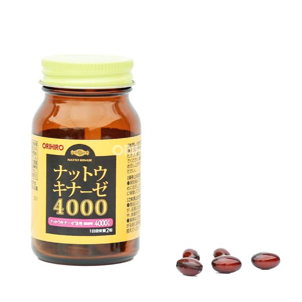 Viên uống hỗ trợ điều trị đột quỵ 4000 FU Orihiro 60 viên