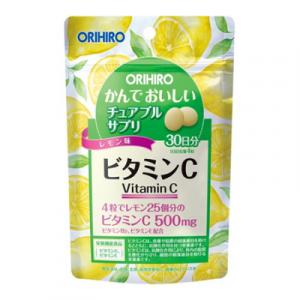 Vien uong Vitamin C Orihiro dang tui 120 vien