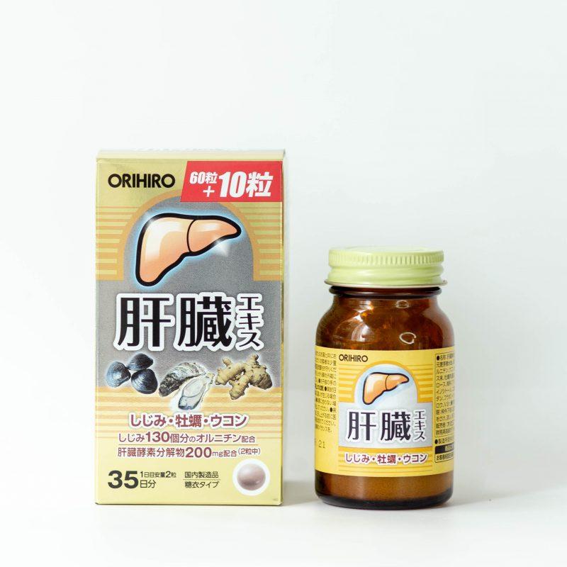 Viên uống bổ gan Shijimi Orihiro 70 viên