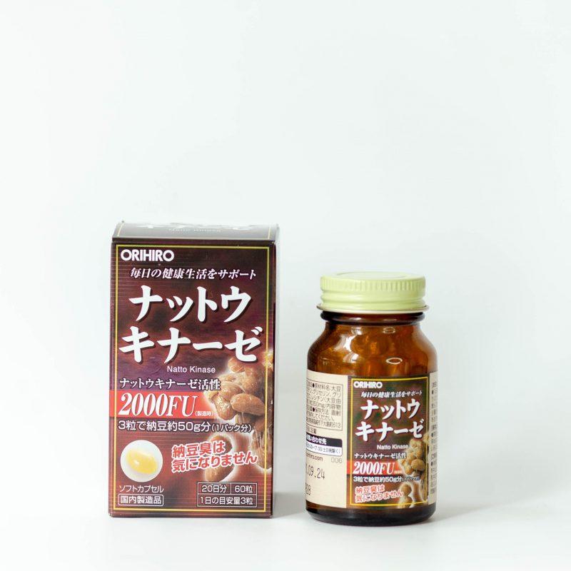Viên uống hỗ trợ điều trị tai biến NattoKinase Orihiro 60 viên