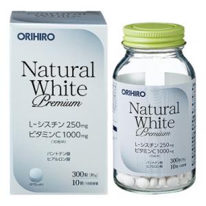 Viên uống trắng da Natural White Premium Orihiro