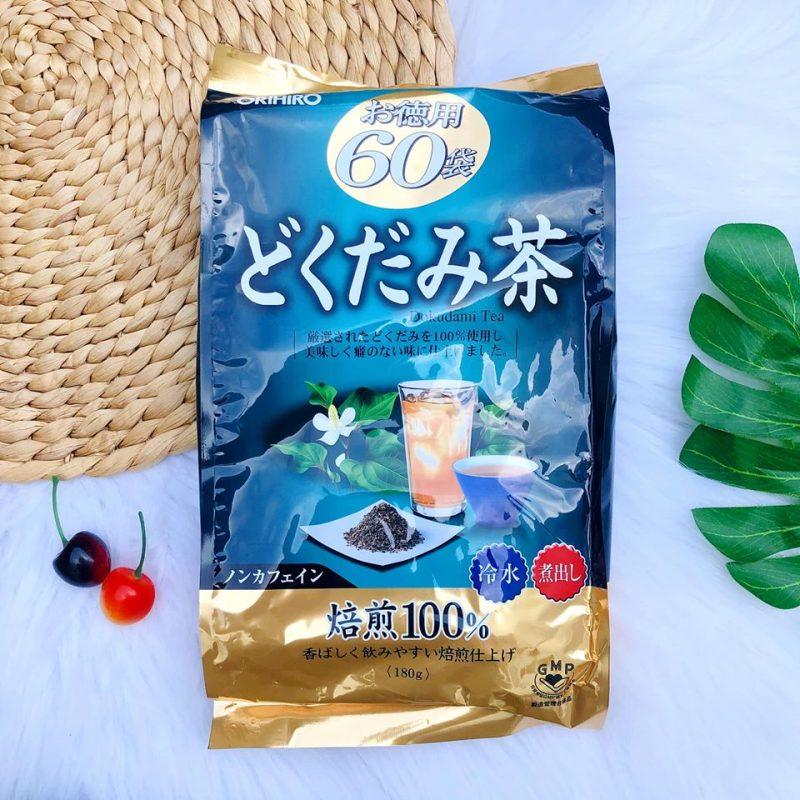 Trà diếp cá orihiro rất dễ uống