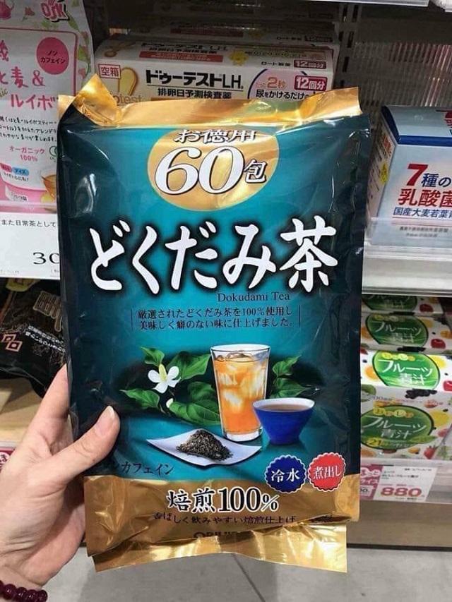 Trà diếp cá orihiro giá bao nhiêu cho một túi