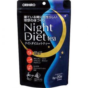Trà giảm cân Night Diet Tea Orihiro 20 gói