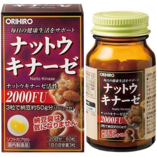 Thuốc chống đột quỵ Orihiro 2000FU Nhật Bản