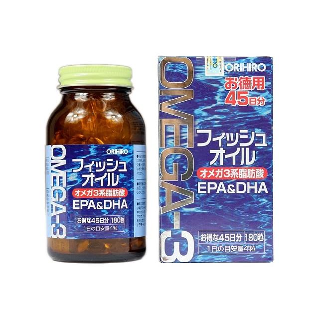 Reiview omega 3 Orihiro trên mọi phương diện