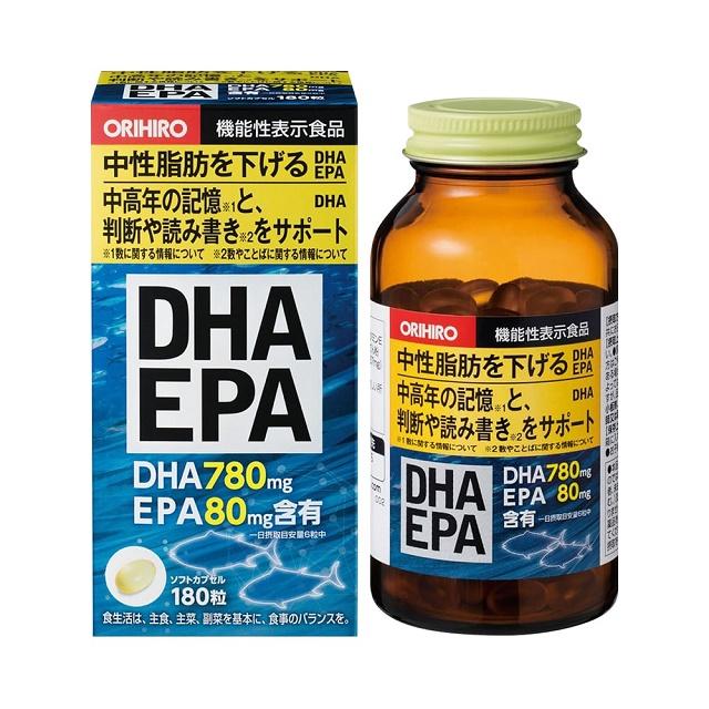 Thành phần viên bổ não của Nhật DHA EPA Orihiro