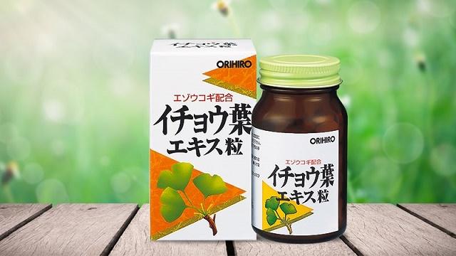 Tìm hiểu về sản phẩm viên uống bổ não Ginkgo Nhật Bản