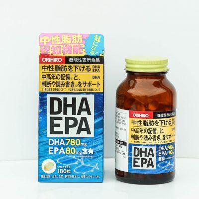 Viên uống DHA EPA giúp cải thiện trí nhớ và giảm nguy cơ đột quỵ, tai biến mạch máu não.