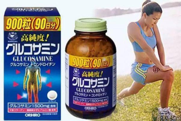 Thuốc bổ xương khớp của Nhật Glucosamine Orihiro