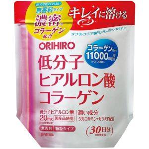 Bột Collagen Hyaluronic Acid Orihiro 11000mg 210g