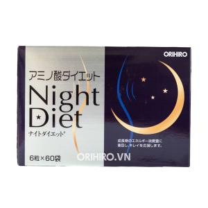 Cải thiện vóc dáng thon gọn bằng viên uống giảm cân Night Diet Orihiro