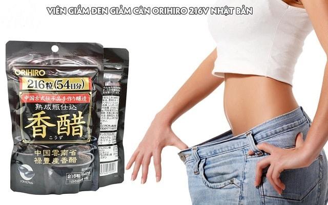 Cách sử dụng viên giảm cân giấm đen Orihiro tốt nhất là uống đúng liều lượng
