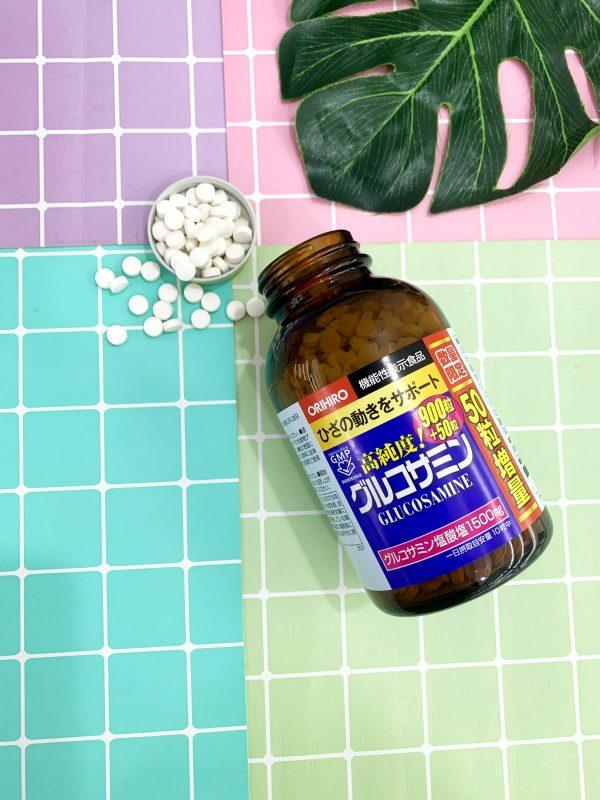 Viên uống bổ xương khớp Glucosamine Orihiro 950 viên