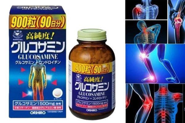 Review viên uống bổ xương khớp Glucosamine Orihiro với các ưu điểm nổi bật