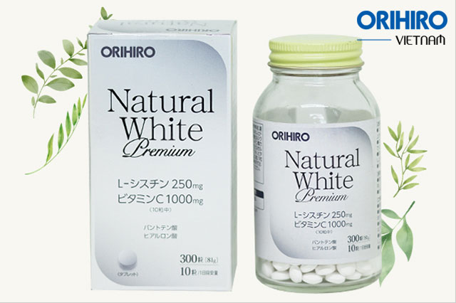 Review viên uống trắng da của Nhật Natural While từ A-Z