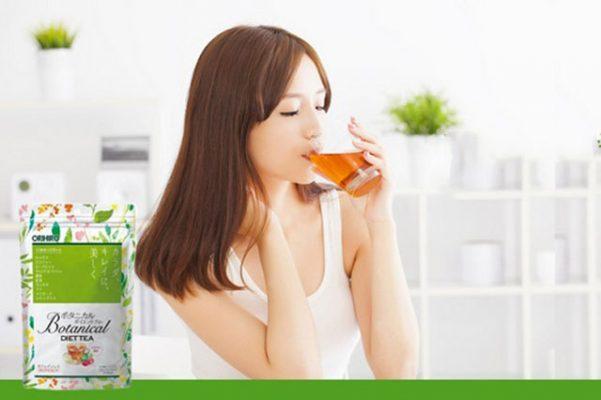Detox giảm mỡ bụng bằng Botanical Diet Tea Orihiro có thực sự hiệu quả?