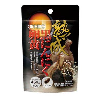 Viên nang lòng đỏ trứng tỏi đen Orihiro 90 viên