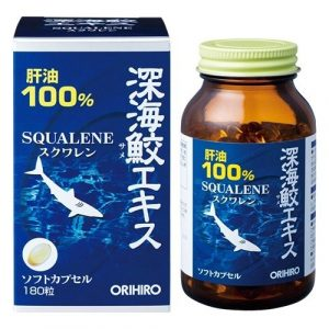 Viên uống dầu gan cá mập Orihiro 180 viên