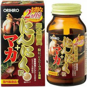 Tỏi không mùi Maca Orihiro 180 viên