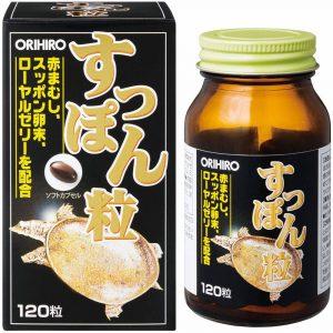 Viên uống tăng cường sinh lực chiết xuất ba ba Orihiro 120 viên