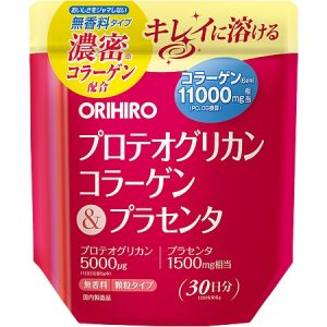 Bột Collagen Proteoglycan nhau thai heo 11000mg Orihiro 180g