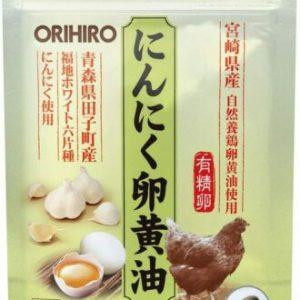 Viên uống tỏi lòng đỏ trứng gà Orihiro 60 viên