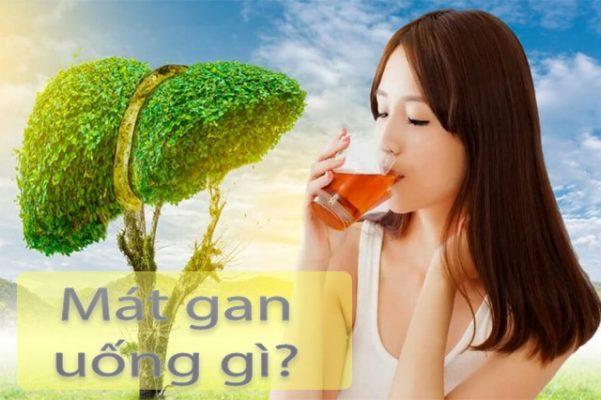 Mát gan uống gì? Top 5 loại nước uống mát gan giải độc tức thì
