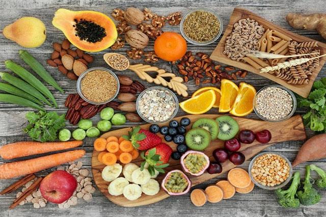 Thực phẩm giảm cân an toàn tự nhiên giàu chất xơ