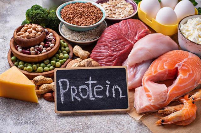Giảm mỡ bụng với chế độ ăn giàu Protein