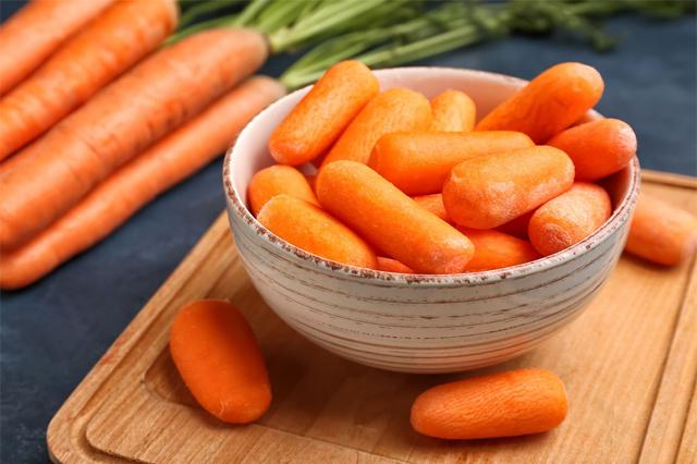 Cà rốt là thực phẩm có khả năng chống lão hóa cao