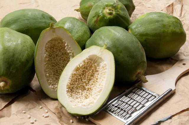 Đu đủ xanh có chứa hàm lượng chất dinh dưỡng cao