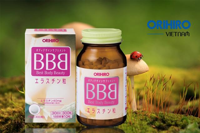 Viên uống nở ngực BBB của Orihiro
