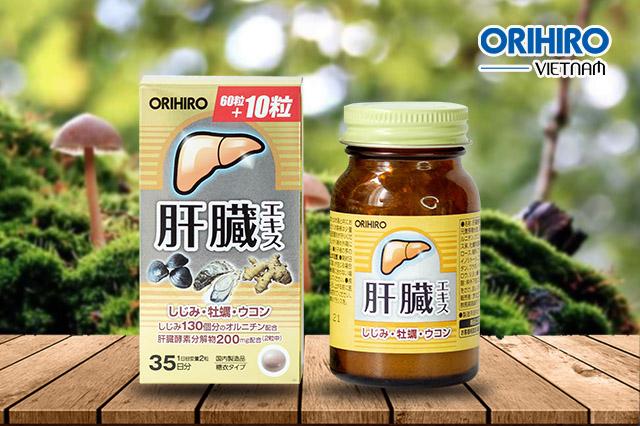 4 lý do dùng thực phẩm chức năng mát gan của Orihiro