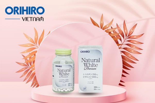 Natural White Premium Orihiro - Thực phẩm chức năng đẹp da của Nhật