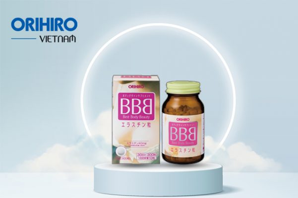 Viên uống BBB Orihiro - Thực phẩm chức năng nở ngực của Nhật