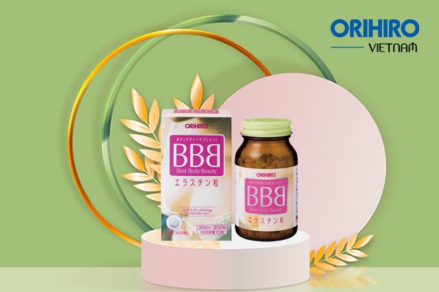 BBB Orihiro - Viên uống săn chắc vòng 1 an toàn nhất hiện nay