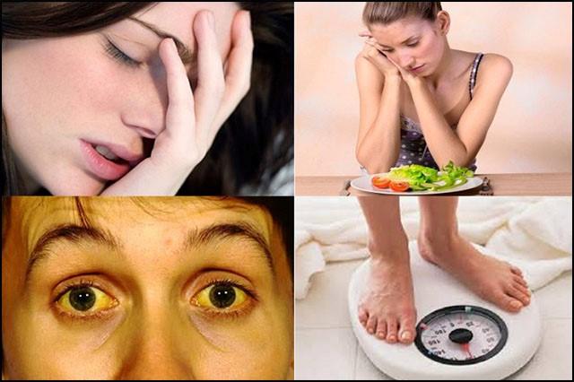 Những triệu chứng mà cơ thể cảnh báo gan của bạn đang suy yếu